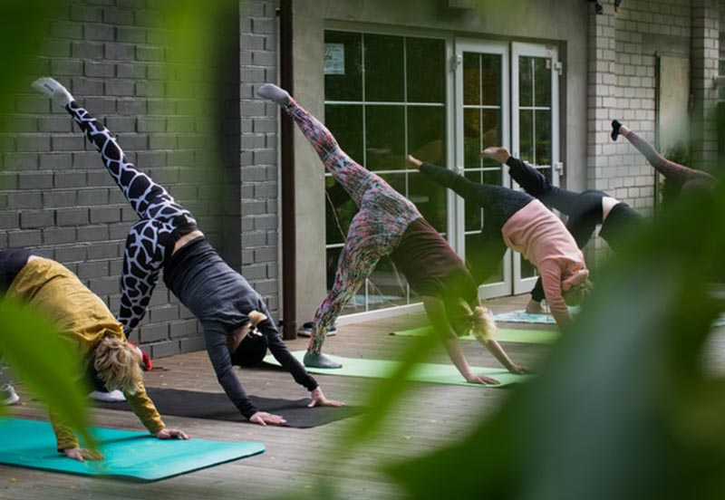 йога-тренировка