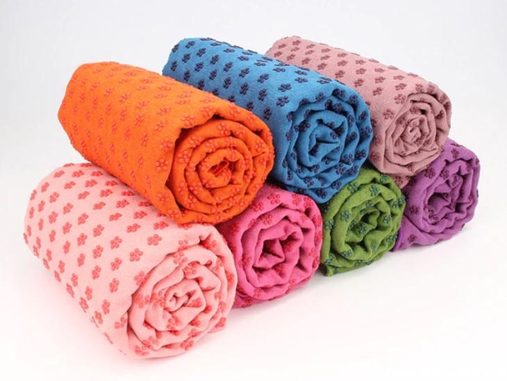 йога полотенце