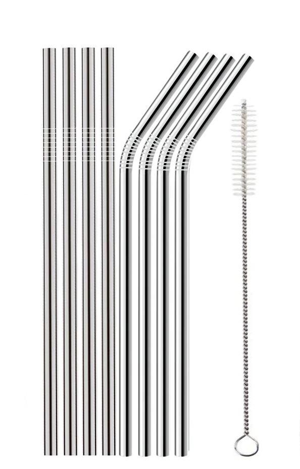 металлические трубочки