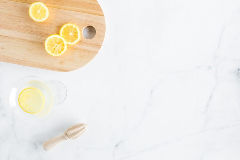 как приготовить лимонную воду