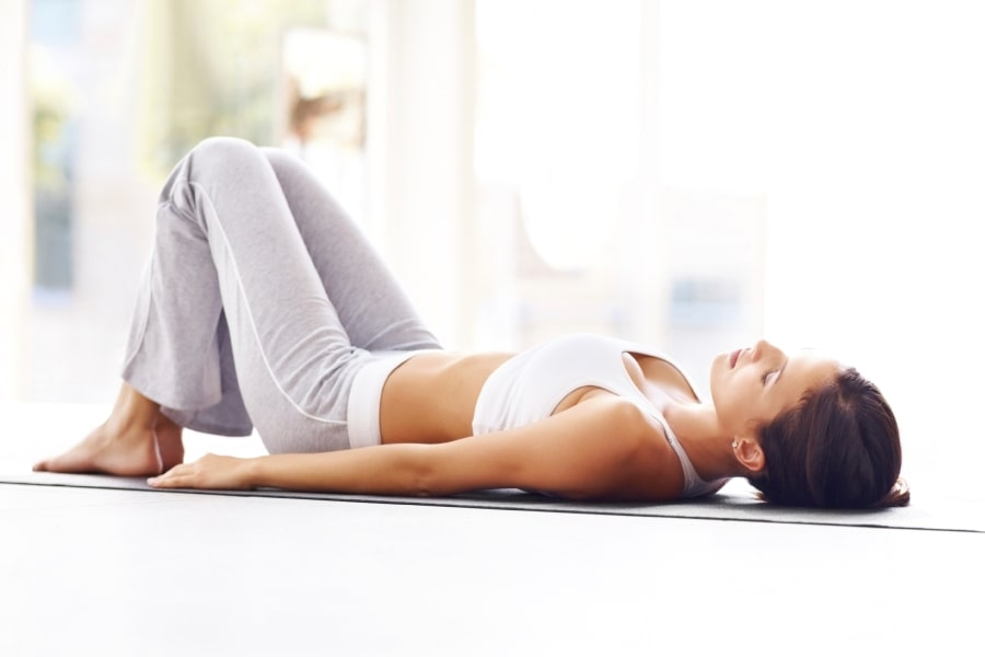 медитация лежа