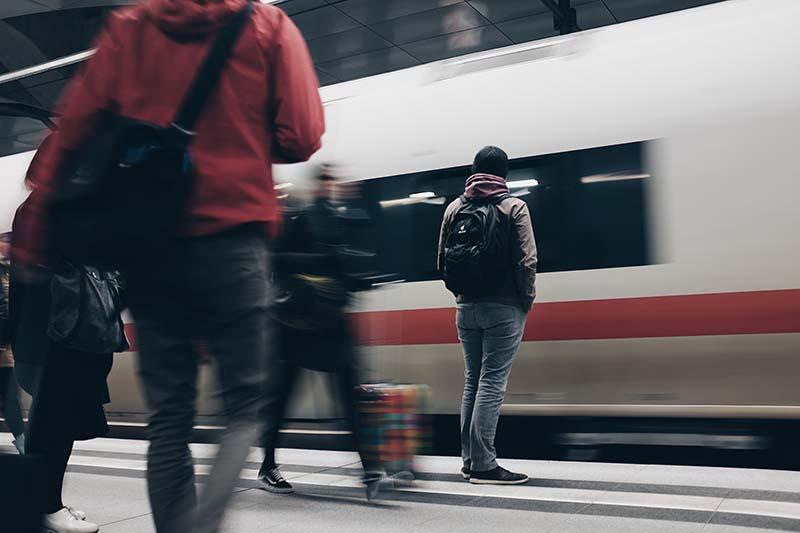 ожидание метро