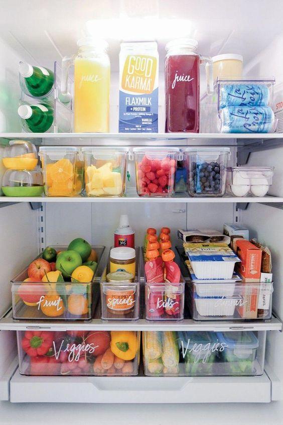 организация холодильника